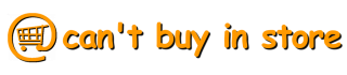 Cant Buy In Store Logo Text